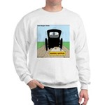Amish Bumper Sticker Sweatshirt