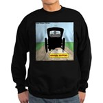 Amish Bumper Sticker Sweatshirt (dark)