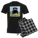 Amish Bumper Sticker Men's Dark Pajamas