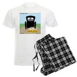 Amish Bumper Sticker Men's Light Pajamas