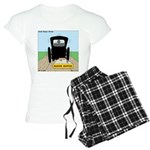 Amish Bumper Sticker Women's Light Pajamas