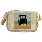 Amish Bumper Sticker Messenger Bag
