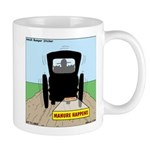 Amish Bumper Sticker Mug
