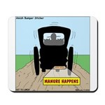 Amish Bumper Sticker Mousepad