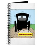 Amish Bumper Sticker Journal