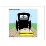 Amish Bumper Sticker Small Poster
