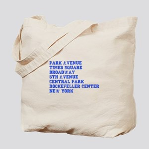 park-ave-coll-blue Tote Bag