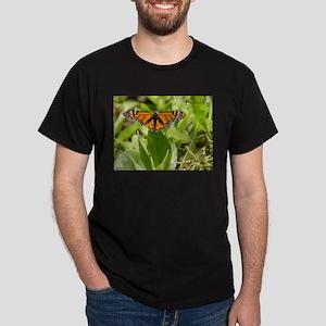 Orange Butterfly Dark T-Shirt