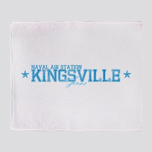 NAS Kingsville TX Throw Blanket
