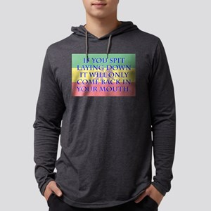If You Spit Laying Down - Amharic Mens Hooded Shir