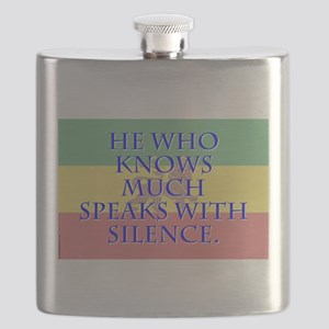 He Who Knows Much - Amharic Flask