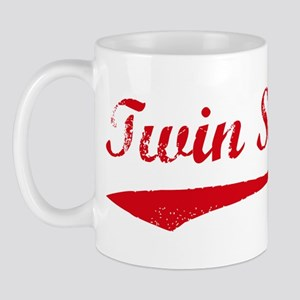 Vintage (Red) Twin Sister Mug