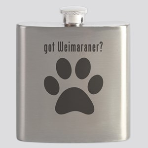 got Weimaraner? Flask