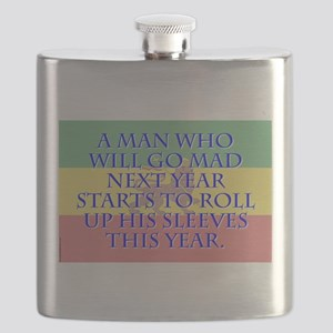 A Man Who Will Go Mad - Amharic Flask