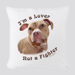 I'm a Lover Woven Throw Pillow