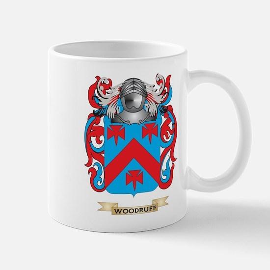 Woodruff Family Crest (Coat of Arms) Mugs