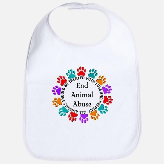 End Animal Abuse Bib