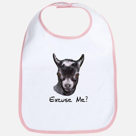 Pygmy Goat Excuse me? Bib