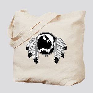 Native Art / First Nations Tote Bag Spirit Buffalo