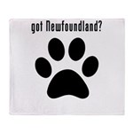 got Newfoundland? Throw Blanket