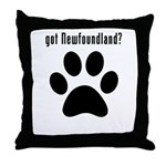 got Newfoundland? Throw Pillow