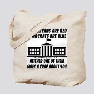 Gives A Crap About You Tote Bag