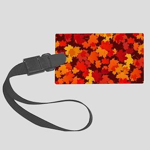 Autumn Leaves Luggage Tag