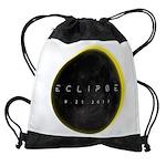 Solar Eclipse 2017 Drawstring Bag