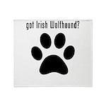 got Irish Wolfhound? Throw Blanket