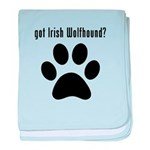 got Irish Wolfhound? baby blanket