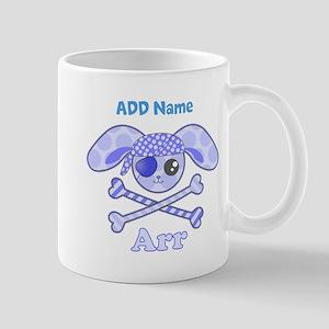 Personalized Pirate Mug