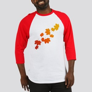 Autumn Leaves Baseball Jersey