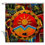Sun Bear Shower Curtain