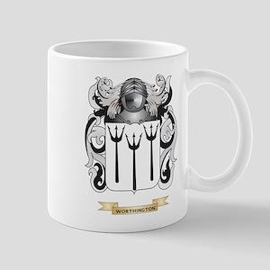 Worthington Family Crest (Coat of Arms) Mugs
