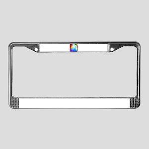Benjamin License Plate Frame