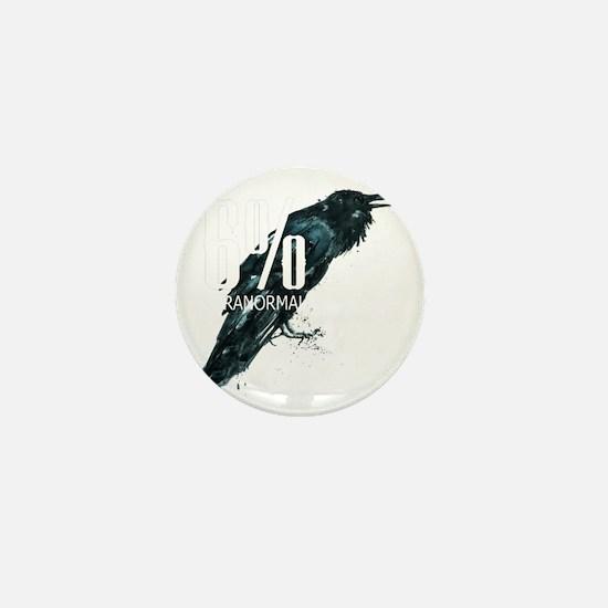 transp bg _our crow_logo Mini Button