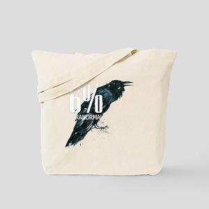 transp bg _our crow_logo Tote Bag