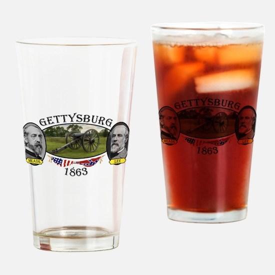 Gettysburg Drinking Glass
