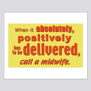 Midwife - has to be delivered Small Poster