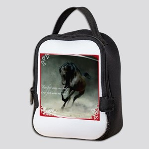 Four feet move your soul Neoprene Lunch Bag