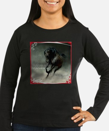 Four feet move your soul Long Sleeve T-Shirt