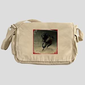 Four feet move your soul Messenger Bag
