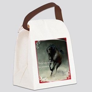 Four feet move your soul Canvas Lunch Bag