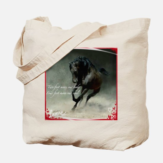 Four feet move your soul Tote Bag