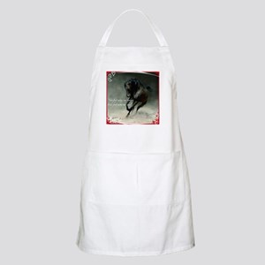 Four feet move your soul Apron