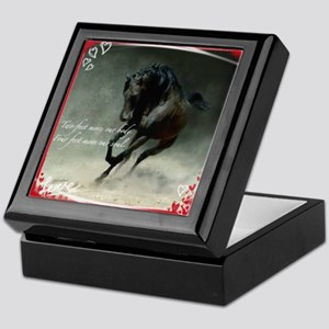 Four Feet Move Your Soul Keepsake Box