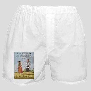 If You Want To Take Revenge - Arab Boxer Shorts