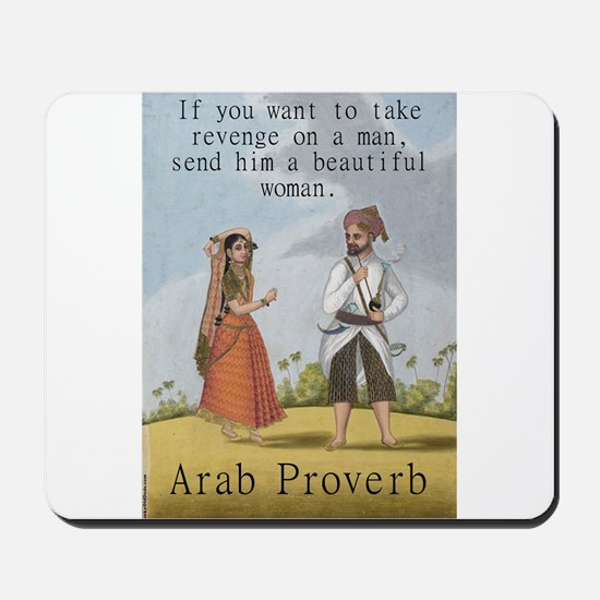 If You Want To Take Revenge - Arab Mousepad