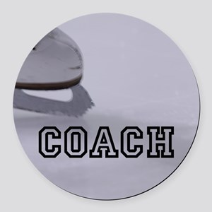 COACH Round Car Magnet