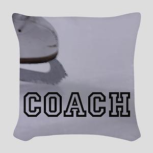 COACH Woven Throw Pillow